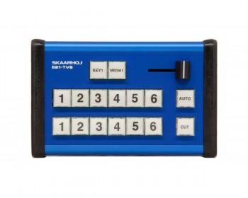 SKAARHOJ E21-TVS MII Pocket Controller with GPIO for ATEM Television Studio