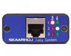 Skaarhoj Micro Series - Micro Tally Ethernet Controller