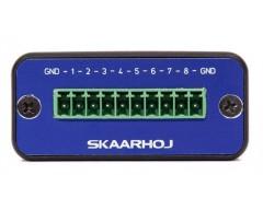 Skaarhoj Micro Series - Micro GPIO Ethernet Controller