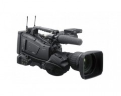 "Sony PXW-Z450 4K shoulder camcorder with 2/3"" sensor and 2/3"" B4 lens mount"