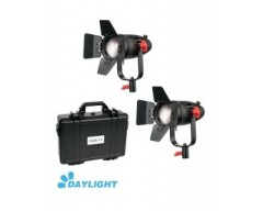 Kit 2x CAME-TV Boltzen 30w Fresnel Fanless Focusable Led Daylight