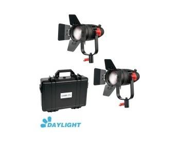 Kit 2x CAME-TV Boltzen 30w Fresnel Fanless Focusable Led Daylight