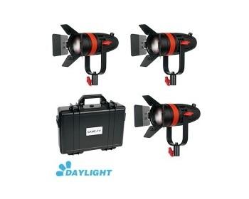 Kit 3X CAME-TV Boltzen 55w Fresnel Focusable Led