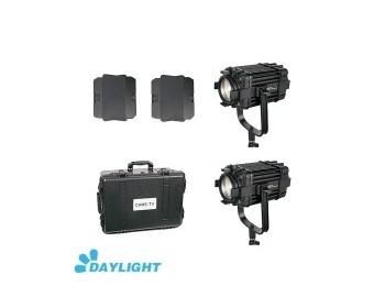 Kit 2X CAME-TV Boltzen 60w Fresnel Fanless Focusable Led Daylight