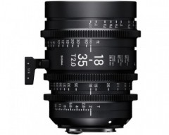 Sigma 18-35mm T2 High Speed Zoom Cine Lens - EF Mount
