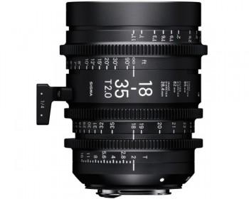 Sigma 18-35mm T2 High Speed Zoom Cine Lens - EF Mount