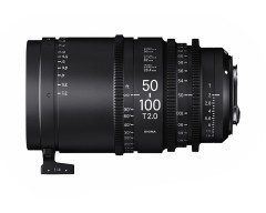 Sigma 50-100mm T2 High Speed Zoom Cine Lens - EF Mount