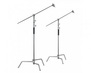 CAME-TV 2sets 3.3m Studio Centry C Stand Detachable Light C-Stand