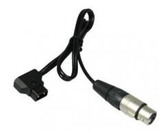 Lupo COD 313 Cavo D-TAP con Connettore per Alimentazione a Batteria V-mount per Dayled 650 e 1000,Superpanel