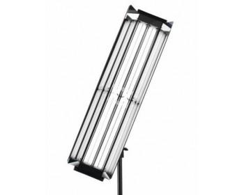 Lupo COD 200 Striplight on/off 4x55 w Completo di Alette Staffa e Lampade Speciali Lupo Light (5400K o 3200K)