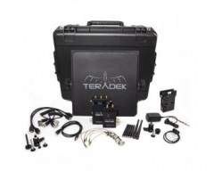 TRADE TER-BOLT-965-1G Pro 1000 HD-SDI / HDMI Wireless Video TX/RX Deluxe Kit Whit Gold Mount