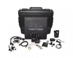 TRADE TER-BOLT-965-1V Pro 1000 HD-SDI / HDMI Wireless Video TX/RX Deluxe Kit Whit V-Mount