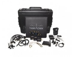 RADE TER-BOLT-965-2V Pro 1000 HD-SDI / HDMI Wireless Video TX/2RX Deluxe Kit Whit V-Mount