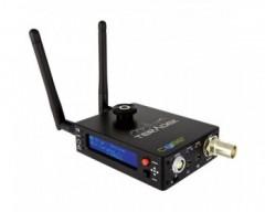 TERADEK TER-CUBE555 1ch Composite Encoder OLED Li-lon Built in 2.4G/5.8G WIFI Mic input USB microSD
