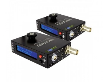 TERADEK TER-CUBE106/306 HD-SDI Encoder / Decoder Pair Whit Power Over Ethernet
