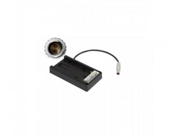TERADEK TER-BIT600 Canon BP-970G 7,2v Batt to 2pin Lemo Battery Plate Adapter for Cube