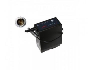 TERADEK TER-BIT645 Batterty for Panasonic VW-VBG6 25cm 2pin Lemo to Barrel Adapter Cable