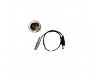 TERADEK TER-BIT710 2-pin Lemo to Barrel Adapter Cable (approx 45 cm)