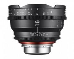 Xeen Obiettivo 16mm T2.6 Cinema 4K per Canon EF Mount