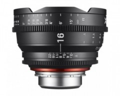 XEEN 16mm T2.6 Cine Ultra Wide Lens - PL Mount