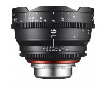 Xeen Obiettivo 16mm T2.6 Cinema 4K per PL Mount