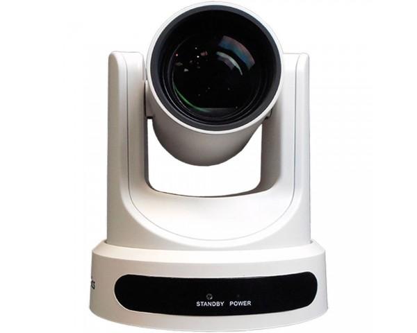 Ptzoptics 12x usb gen2 live streaming camera white for Camera streaming live