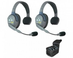 Eartec UL2S UltraLITE 2-Person Headset System with Batteries, Charger & Case (Single)