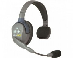 Eartec UltraLITE Single-Ear Remote Headset with Rechargeable Lithium Battery