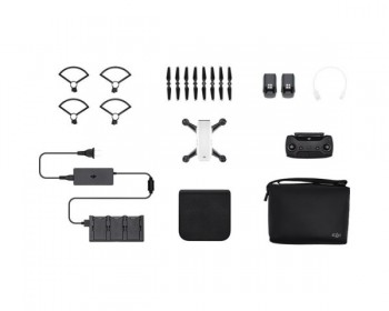 DJI Spark Fly More Drone Combo White