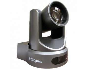 PTZOptics PT12X-USB-GY-G2 12x-USB Gen2 Live Streaming Camera (Gray)