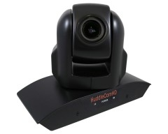 HuddleCam HC3XA-BK HD HC3XA USB 2.0 PTZ Conferencing Camera with 3x Optical Zoom, 1920 x 1080p, 74° FOV Lens (Black
