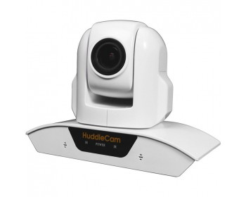 HuddleCamHD HC3XA -WH USB 2.0 PTZ Conferencing Camera with 3x Optical Zoom, 1920 x 1080p, 74° FOV Lens (White)