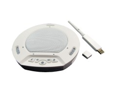 HuddleCamHD HP-AIR-WH HuddlePod Air Wireless USB Speakerphone (White)