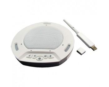 HuddleCamHD HP-AIR-WH HuddlePod Air Wireless USB Speakerphone (White)