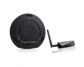 HuddleCamHD HP-AIR-BK HuddlePod Air Wireless USB Speakerphone (Black)