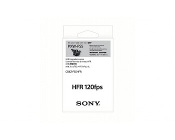 Sony CBKZ-FS5HFR 120fps High Frame Rate (HFR) Upgrade for PXW-FS5 4K Super 35 Camera