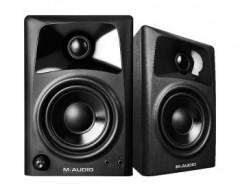 """Speaker da tavolo Compact M-Audio AV32 per la creazione di supporti professionali (coppia), 3 """"woofer con polipropilene,"""