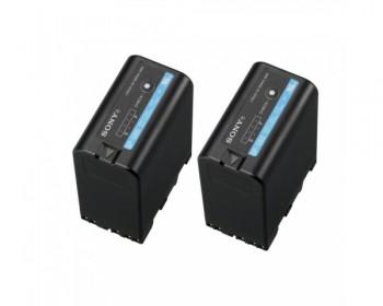 Sony 2BPU-60 Coppia Batterie ricaricabili InfoLITHIUM 14,4V, 3800mAh, 56 W/h