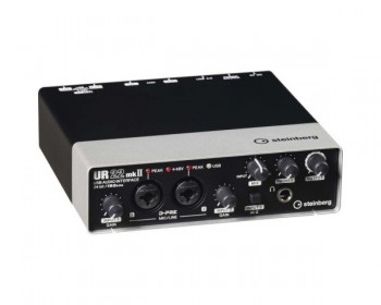 Steinberg UR22mkII - USB 2.0 Audio Interface con Dual Microphone Preamps