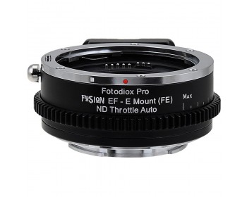 FotodioX Canon EF Lens to Sony E-Mount Camera FUSION ND Throttle Auto Adapter