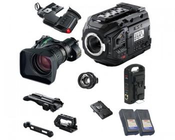Blackmagic URSA Mini Pro con Fujinon B4 Broadcast HD Lens Kit