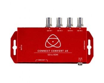 Atomos ATOMCCVSH2 Connect Convert 4K | SDI to HDMI with Scale/Overlay