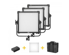 F&V K4000 Daylight LED Studio Panel 3 Lights Kit
