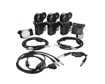 Remote Live 2 Compact 3 Channel Focus Iris & Zoom Control Kit (PD Movie)