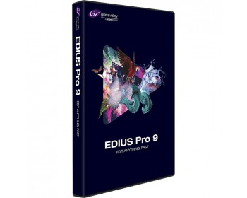 Grass Valley EDIUS Pro 9 (Box) Nonlinear Editing Software Windows