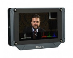 "ikan Saga 7"" Super High Bright HDMI/3G-SDI On-Camera Field Monitor with 3D-LUTs and Scopes"