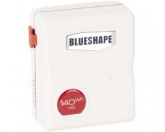 BLUESHAPE BV140HD MINI W CAMERA BAT VLOCK 14.4V GRANITE MINI, WHITE COLOR
