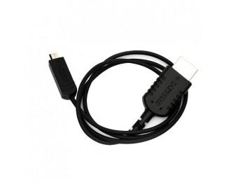 SmallHD 24-inch Thin Micro HDMI to Standard HDMI Cable