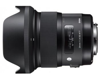 Sigma Obiettivo 24mm-F/1.4 (A) AF DG HSM,Attacco CANON