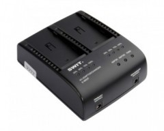 SWIT S-3602F Dual Charger/Adapter per Sony NP-F970/770/960/950 Batterie